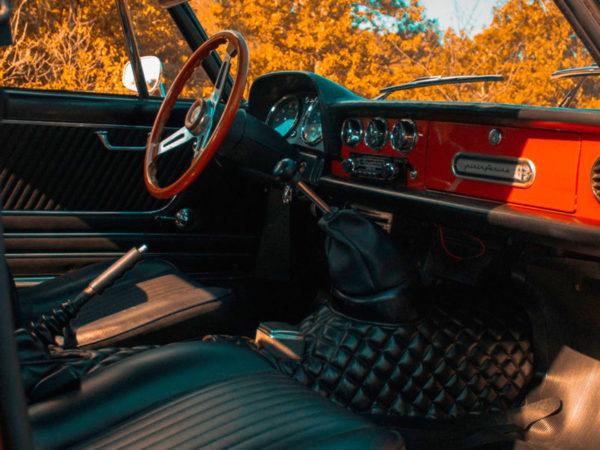 interno Alfa Romeo Spider Coda Tronca 1.3 Junior 6 Rossa