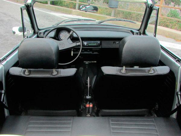 interno Maggiolone cabrio