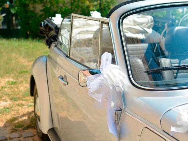 Maggiolone cabrio, noleggio per matrimoni